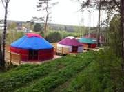 Юрты вместо палаток