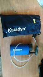 Походный фильтр-насос для воды Katadin mini